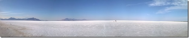 Bonneville Salt Flats Stitch
