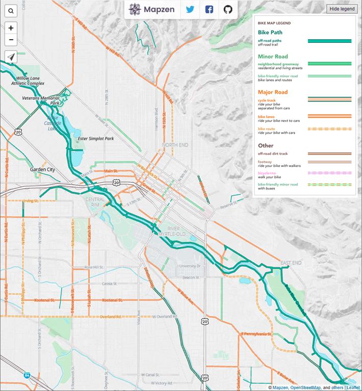 Open Street Maps   A Seasonal Commute